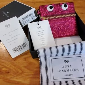 Anya Hindmarch Coin Bag & Key Accessory